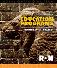 Education Programs 2013-2013 (flyer cover)